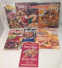 Taste Of Home's Recipe Magazines 8 issues Cooking Baking Roasting