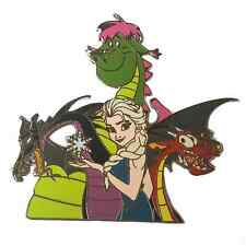 Game of Thrones Frozen Elsa Mulan Maleficent Elliot Disney Dragon Fantasy Pin