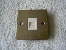 Volex 1-Gang Phone Socket Home Electrical Fittings