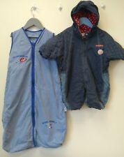 Baby Boys Bundle 3-6 months Travel Slumbersac and Mini Man Snowsuit <B3581