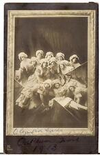 Vaudeville Act The Olympia Girls Dance? Orpheum Time 1913 Real Photo Postcard