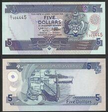 SOLOMON ISLANDS - 5 Dollars ND (1997) Pick 19  UNC