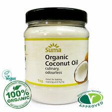 Kokosnussöl - Bio - Kulinarisch - Premium Qualität 900 G Gratis UK P