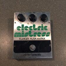 Electro Harmonix Electric Mistress Flanger Filter Matrix