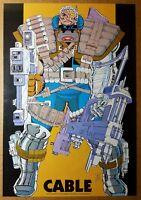 Cable X-Men Marvel Comics Poster by John Romita Jr