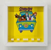 Display Frame Case for Lego Scooby Doo Minifigures figures 25cm