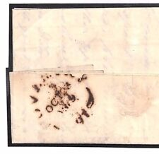 B16a GB Cover 1809 *COVENTRY* FLEURON Postmark Wwks Letter Rochdale Canal Co. EL