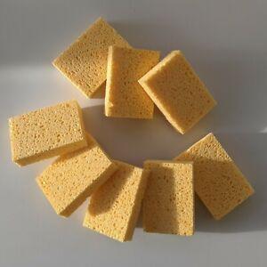 8Pcs Eco-friendly Cellulose Compostable Dishwashing Cleaning Sponge UK Made