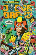 Judge Dredd # 15 (Brian Bolland, Mike McMahon) (Eagle Comics USA, 1985)
