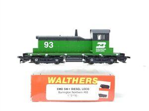 HO Scale Walthers 932-1355 BN Burlington Northern EMD SW-1 Diesel Locomotive #93