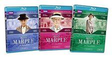 Miss Marple: Complete 1-3 (Blu-Ray) Vol 1 2 3 ~ One Two Three ~ BBC Series ~ NEW