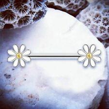 Mama piercing pecho escudo tribal pezon pezones piercing plata Rosegold