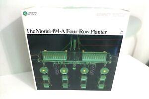 1/16 Ertl Precision Classics John Deere The Model 494-A Four-Row Planter  NEW