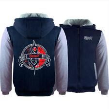 Slipknot Fan Hoodie Fleece Coat Winter Full Zip Band's Jacket Warm Sweatshirt