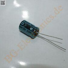 10x SMD Elko Condensatore 330µf 35v 105 ° C; rvd-35v331mh10tq-r2; 330uf