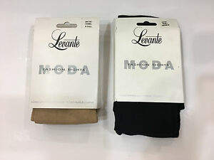 Levante Moda Wool/Cotton /Beige Waist-High Stockings (Pantyhose)  Made in Italy!