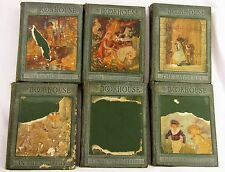 Vintage 1920s My Bookhouse Book House 6 Volume Set Children's Books Collection