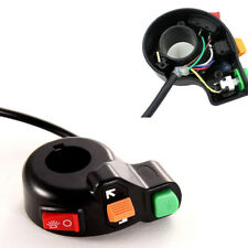 """3in1 Motorcycle ATV Bike Scooter 7/8"""" Switch Horn Turn Signals On/Off Light"""