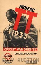 Dutch TT Assen 8th Anniversary Poster Print Image   ca 8 x 10 print prent poster