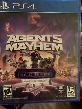 Agents of Mayhem Ps4 PlayStation 4 Video Game