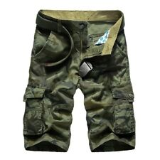 Mens Military Shorts Camouflage Cargo Army Camo Rude Clearance Pants MA9859