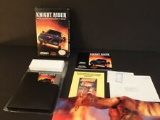 NINTENDO NES KNIGHT RIDER ACCLAIM ORIGINAL BOX BOOKLET & CARTRIDGE
