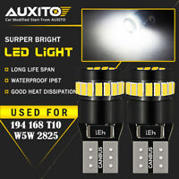 2X T10 168 194 W5W 2825 LED Car HID White CANBUS Error Free Wedge Light Bulb CHA