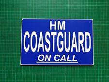 HM Guardacostas en llamada dashcard RNLI de llamada de emergencia fuera de búsqueda y rescate 4X4