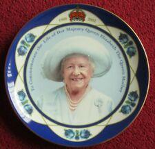 Bn Commemorative plate Queen Elizabeth Queen Mother, 'Coalport' Limited Edition