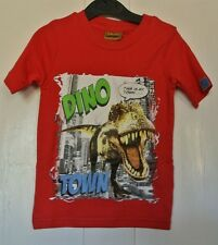 Baby boys 100% cotton Dinosaur Tshirt Red 18-24  months