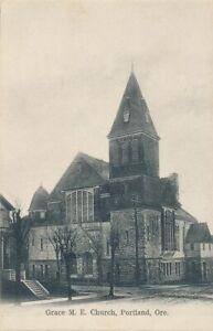 PORTLAND OR - Grace M. E. Church - udb (pre 1908)