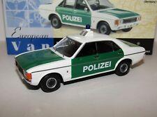 VANGUARDS FORD GRANADA SAARLAND POLICE GERMANY 1/43 VA05204