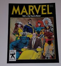 Marvel 1991 The Year in Review Vol 1 #3   (Marvel Magazine 1991) Very Fine Plus