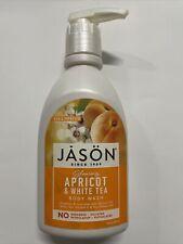 Jason Glowing Apricot & White Tea Body Wash 30 fl oz Liquid