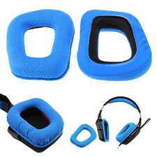 Langlebige Kopfhörer Ersatz-Ohrpolster Kissen für Logitech G35 G930 G430 F450·