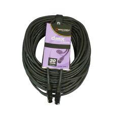 ACCU-Cable ac-dmx5/30 5 P. XLR m/5 P. XLR F 30m DMX Cavo Di Piombo