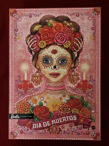 Barbie Dia de Los Muertos 2020 / Barbie Day Of The Dead 2020 Brand New Beautiful