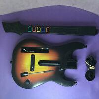 Wii Red Octane Sunburst Guitar Hero World Tour Controller Nintendo Wii 95455.805