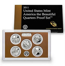 2011 S America the Beautiful National Parks Clad Proof Set ~ In Original Box/COA