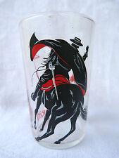 Verre publicitaire (glass) Walt Disney Production - Zorro et le sergent Garcia