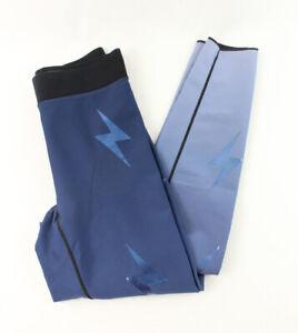 Ultracor Women's Navy Blue Lightning Bolt Leggings Size XS