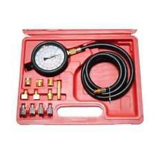 Truck Car Diesel Petrol Oil Pressure Meter Test Tester Gauge Tool Kit UK