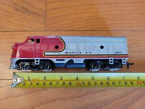 (HO) Bachmann Santa Fe #307 Diesel Locomotive Untested