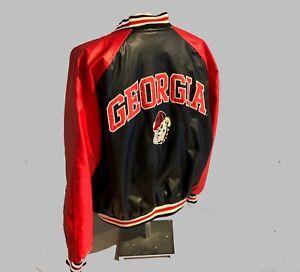 Crisp University Georgia Jacket Dawgs NWOT Steve & Barry's Lg Near Vintage