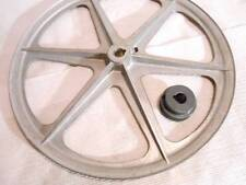 """Whizbang Chicken Plucker Speed Reducer Pulley Set 14"""" & Motor Pulley 1 1/2"""" - 4"""""""