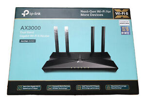 TP-LINK Archer AX50 Dual-Band Wi-Fi 6 Router - Black