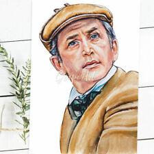 Modern 2020 Postcard Sherlock Holmes Vasiliy Livanov Conan Doyle Art Zaharova