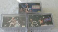 TOPPS WIDEVISION STAR WARS EMPIRE STRIKES BACK RETURN OF JEDI 3 COMPLETE SETS