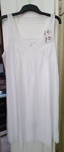 2 Ladies Lingerie Under Dress Full Slip Petticoat Underskirt Size 22 (BRAND NEW)