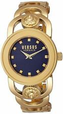 Versus By Versace Women's SCG100016 V_CARNABY STREET CRYSTAL Gold Watch